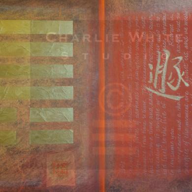 Mixed Media on 2' x 3' canvas